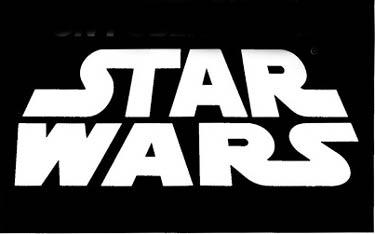 star wars black and white logo. Black Bedroom Furniture Sets. Home Design Ideas