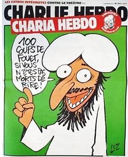 CharlieHebdoMohammedCover
