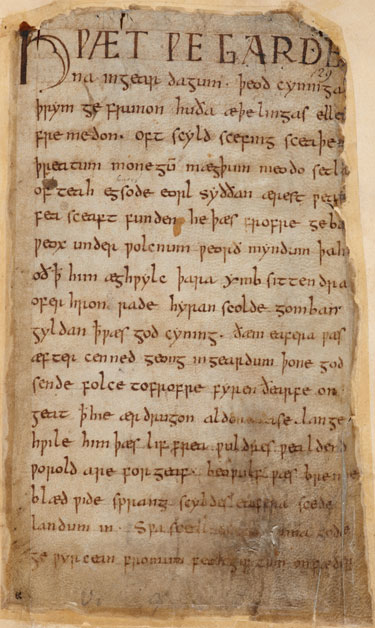Beowulf_Cotton_MS_Vitellius