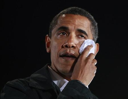 ObamaCries