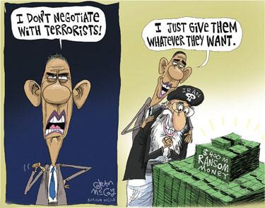 ObamaRansomCartoon