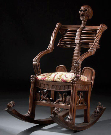 skeletonchair