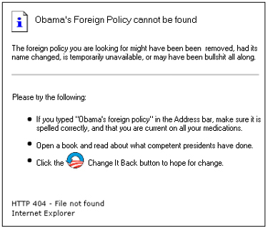 ObamasForeignPolicy