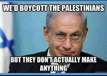 BoycottPalestinians