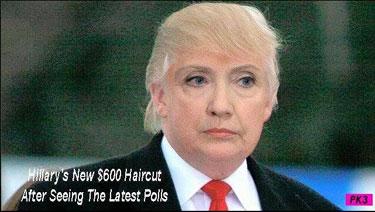 Hillary$600Haircut