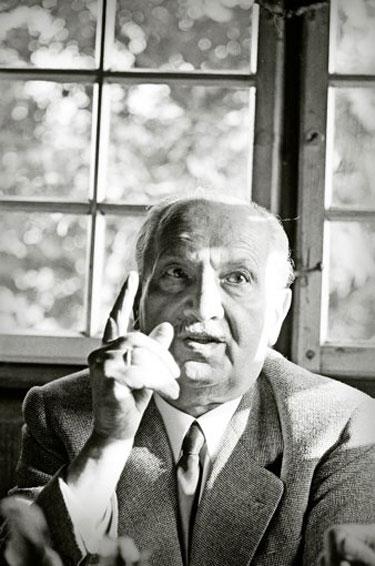 HeideggerTodtnauberg1966