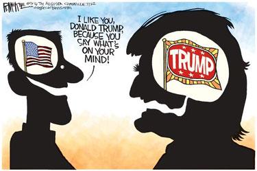 TrumpEgotismCartoon